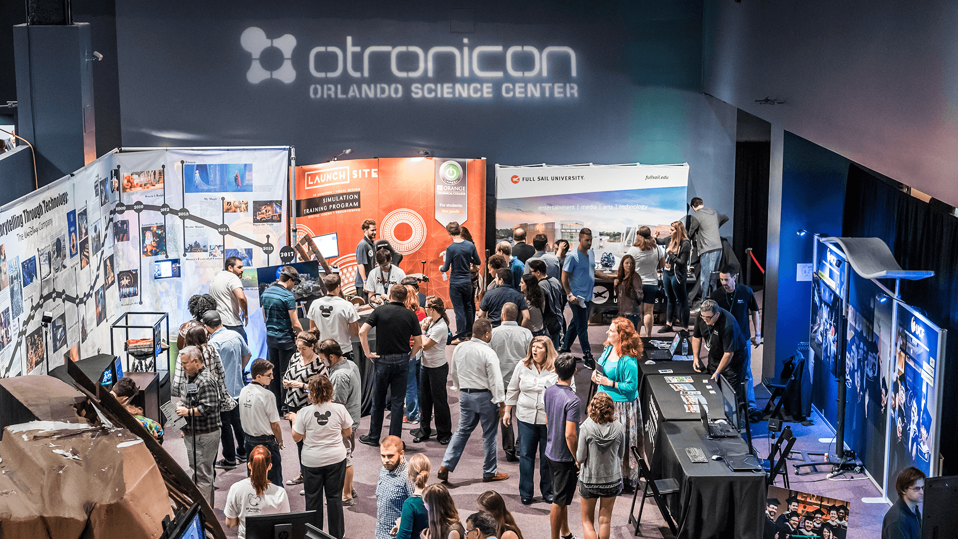 Guests at Otronicon