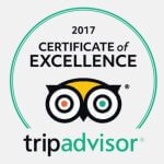 Trip Advisor, Certificate of Excellence 2017