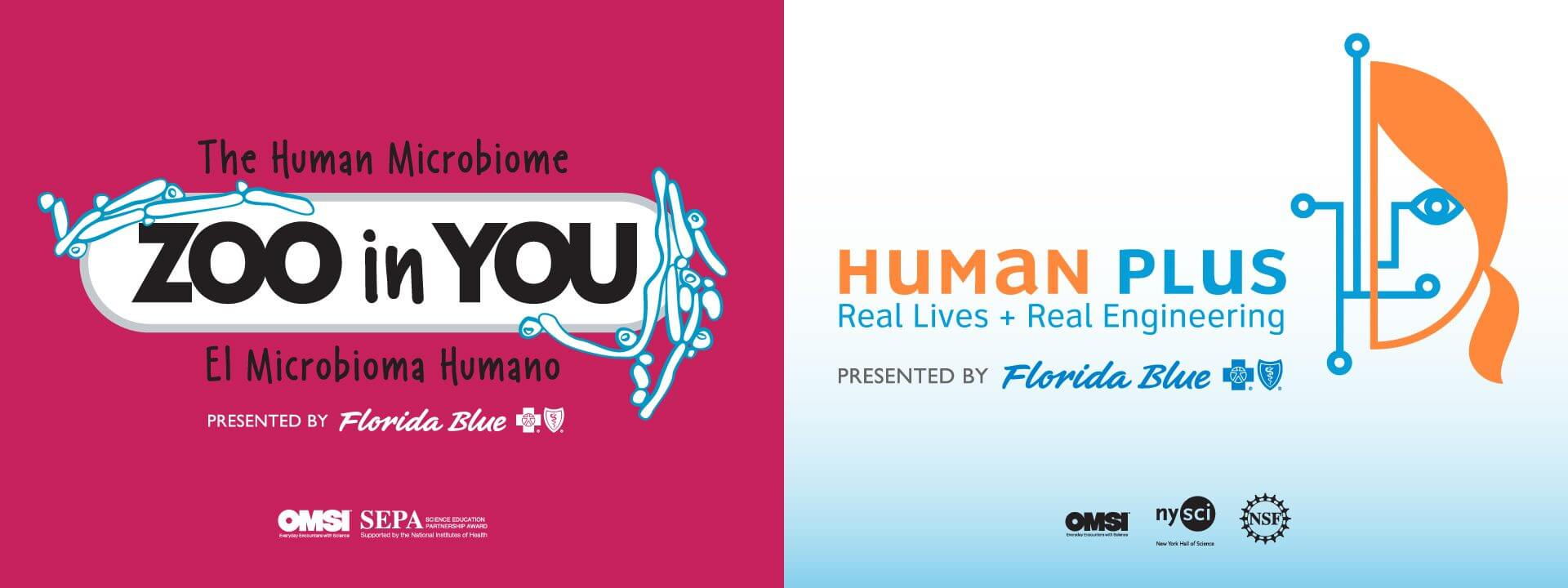 Zoo In You and Human Plus Logos; presented by Florida Blue.
