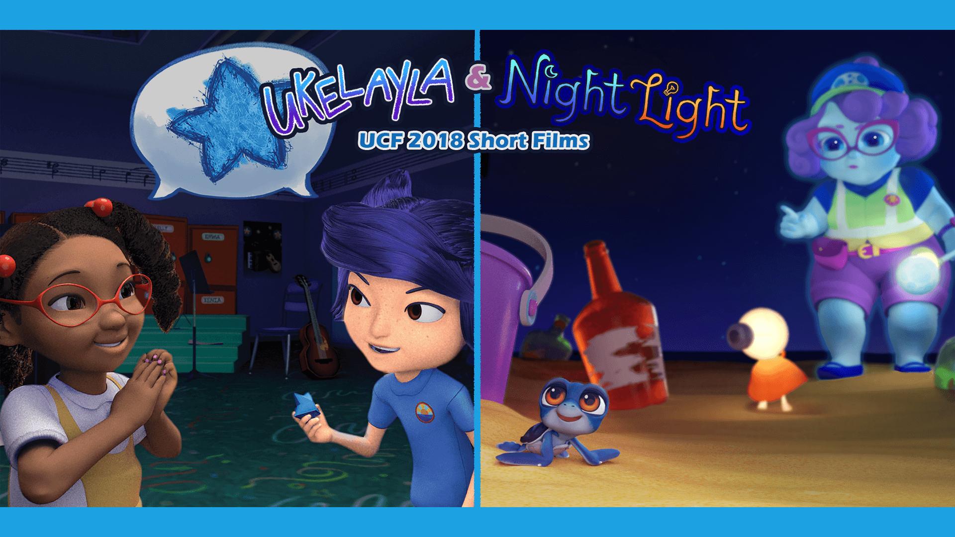 Ukelayla and night light UCF 2018 Short Films Poster