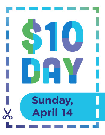 $10 Day Event