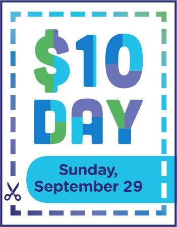 $10 day flyer