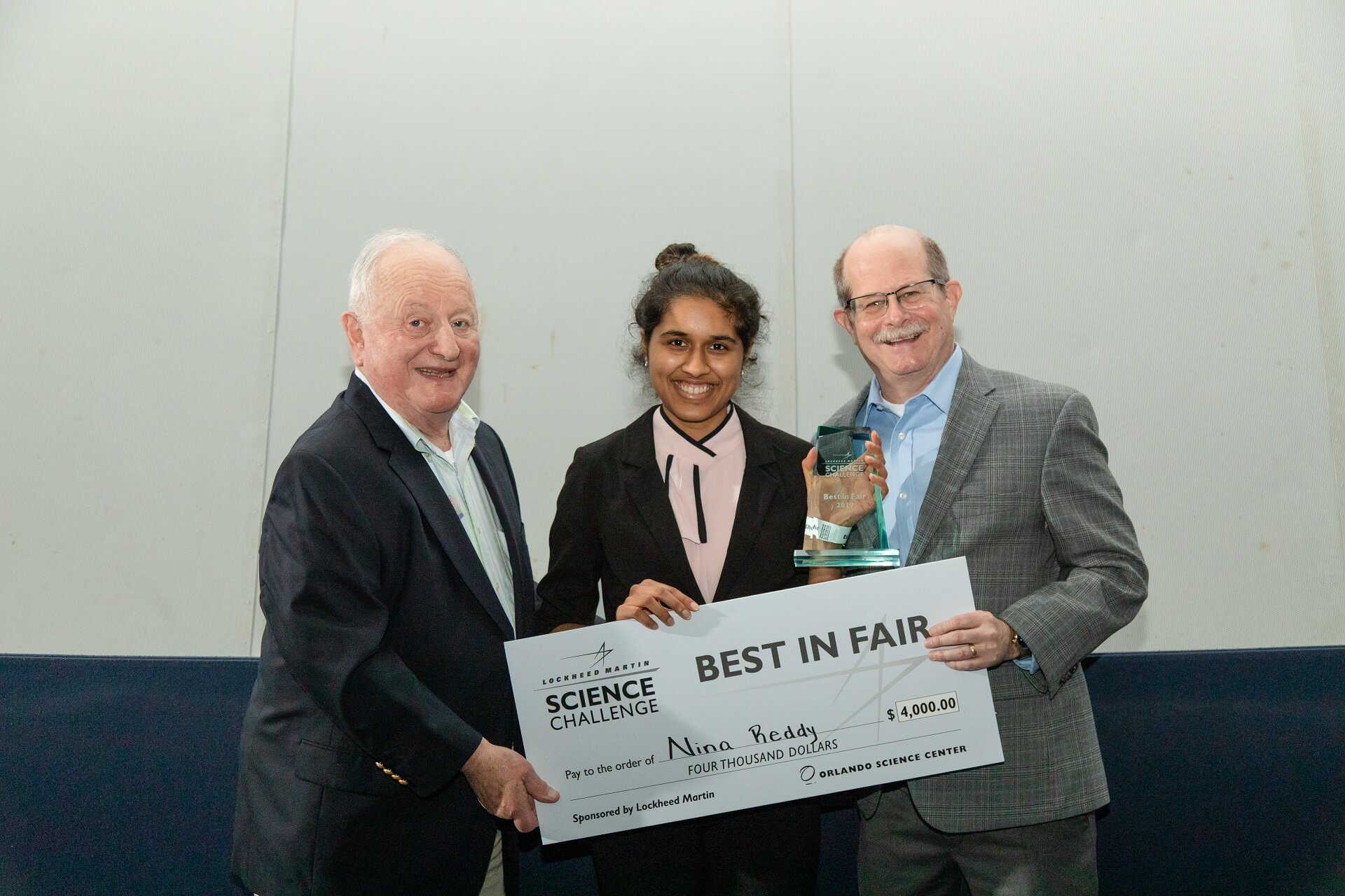 Best In Fair Winner of Lockheed Martin Challenge