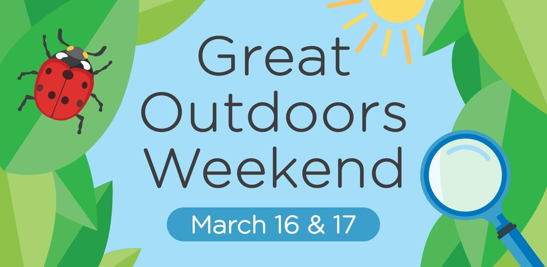 Great Outdoors Weekend Flyer