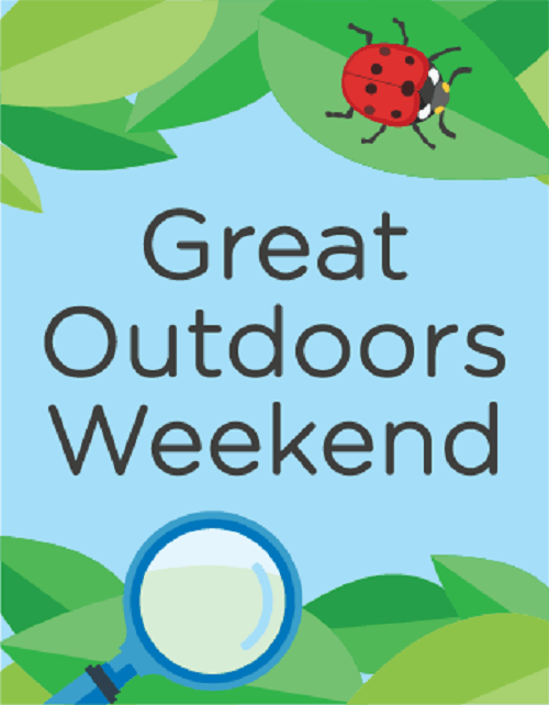 Great Outdoors Weekend Graphic