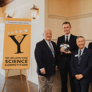 Kyle Bramblett, First Runner Up of the 2019 Dr. Ying Science Competition