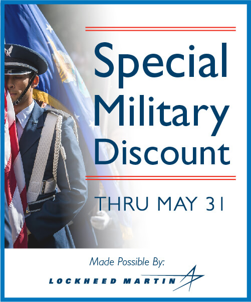 Special Military Discount Flyer