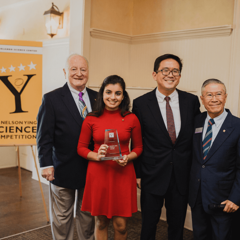 Pooja Shah, Winner of 2019 Ying Competition