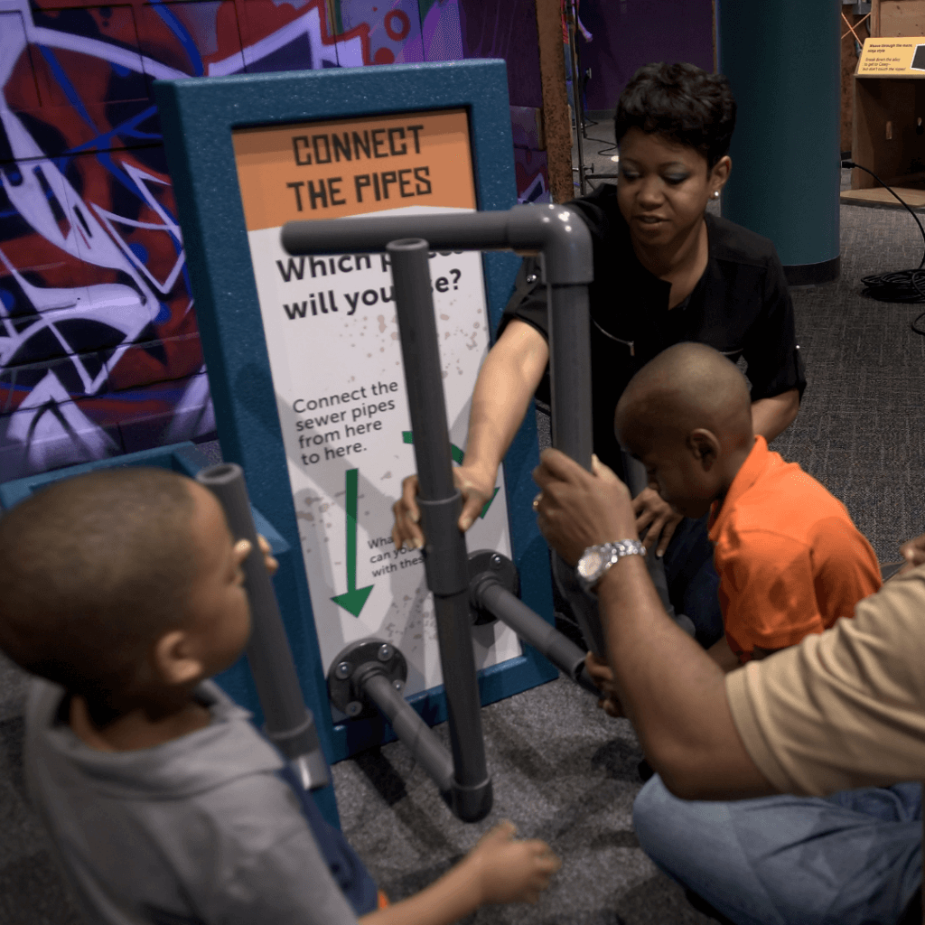 Teenage Mutant Ninja Turtles: Secrets of the Sewer  Exhibit