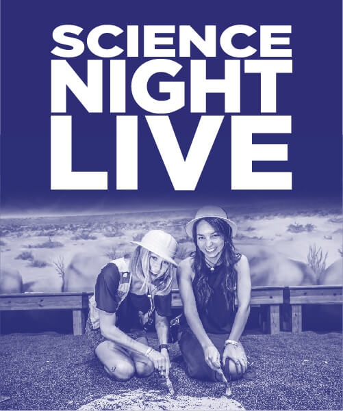 Science Night Live Graphic