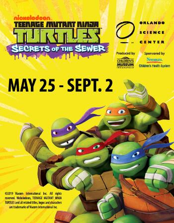 Nickelodeon's Teenage Mutant Ninja Turtles™: Secrets of the Sewer™ Event