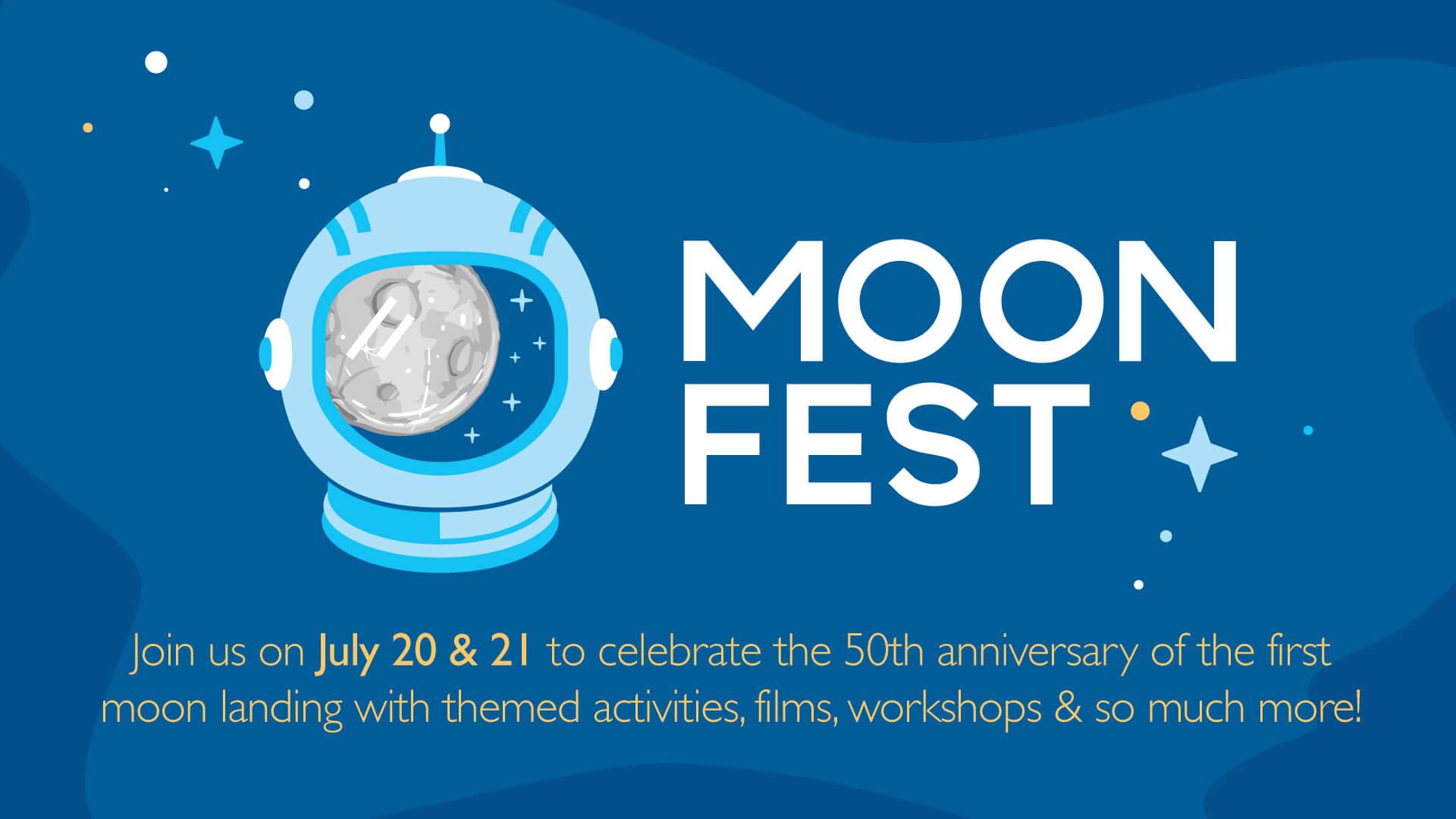 Moon fest flyer