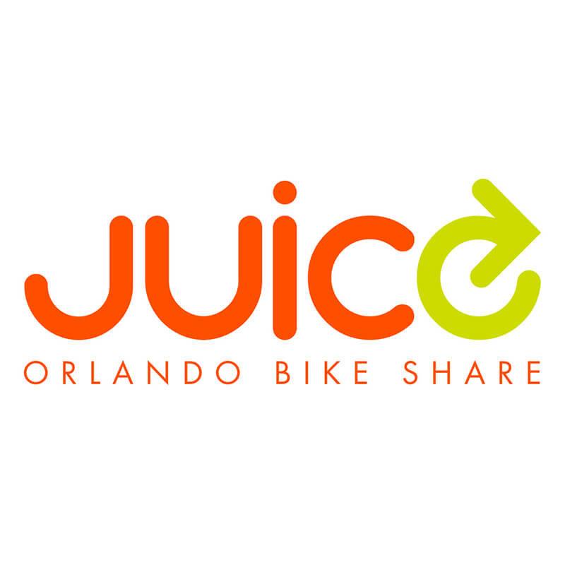 Juice Bike Share Orlando Logo