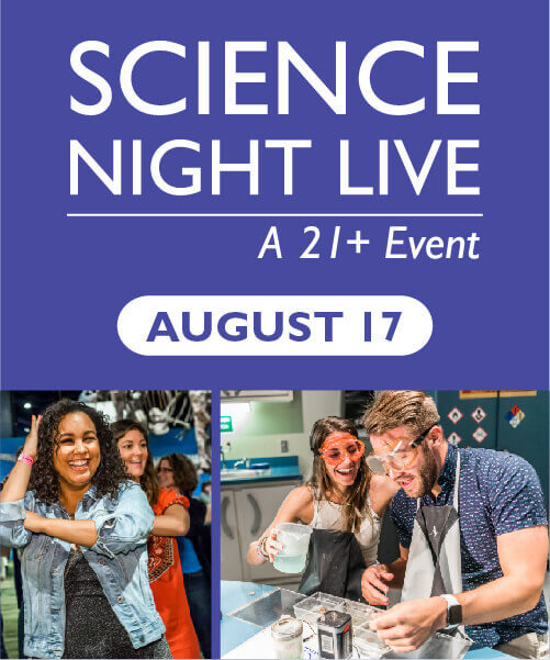 Science Night Live August 17 Graphic