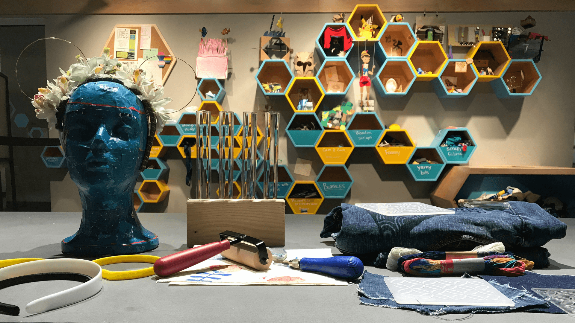 Workshop Materials in The Hive