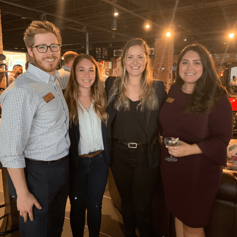 Young Professionals at Happy hour