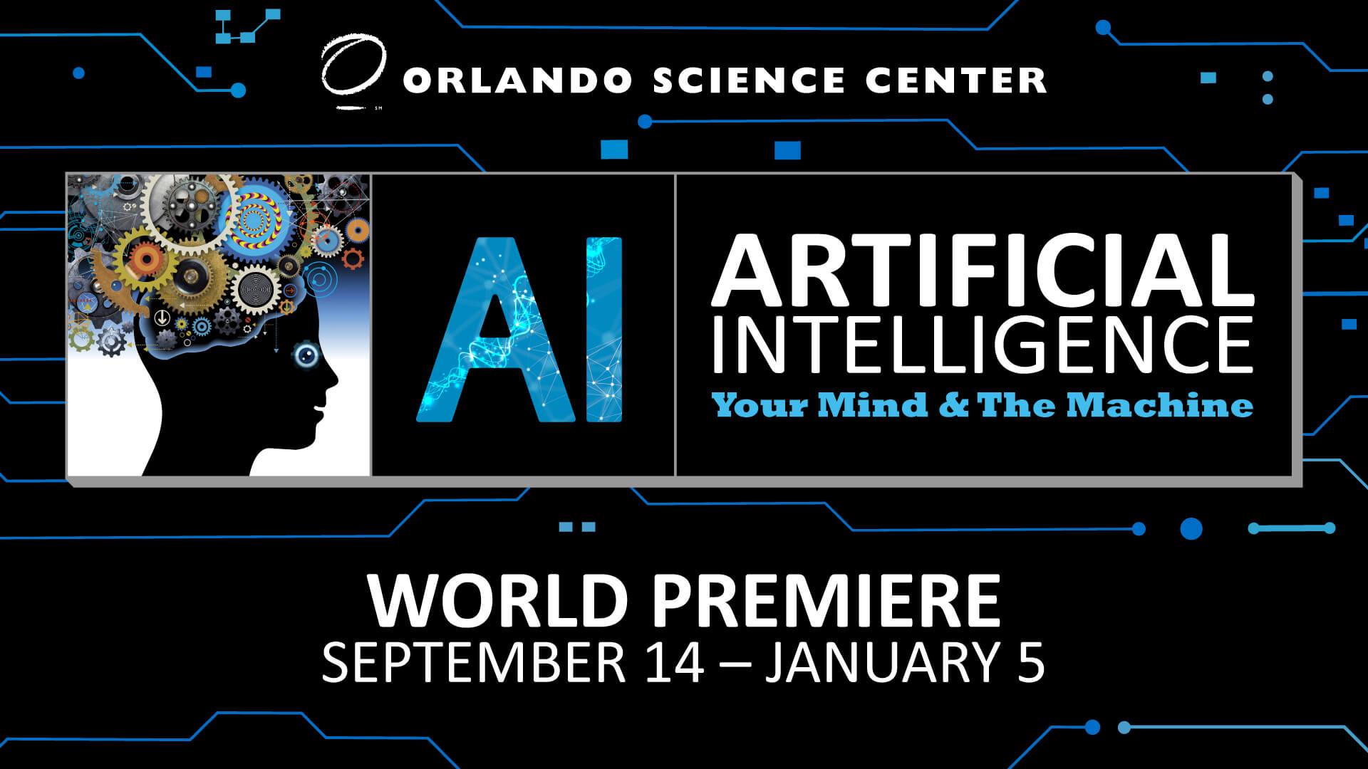 Artificial Intelligence World Premiere Flyer