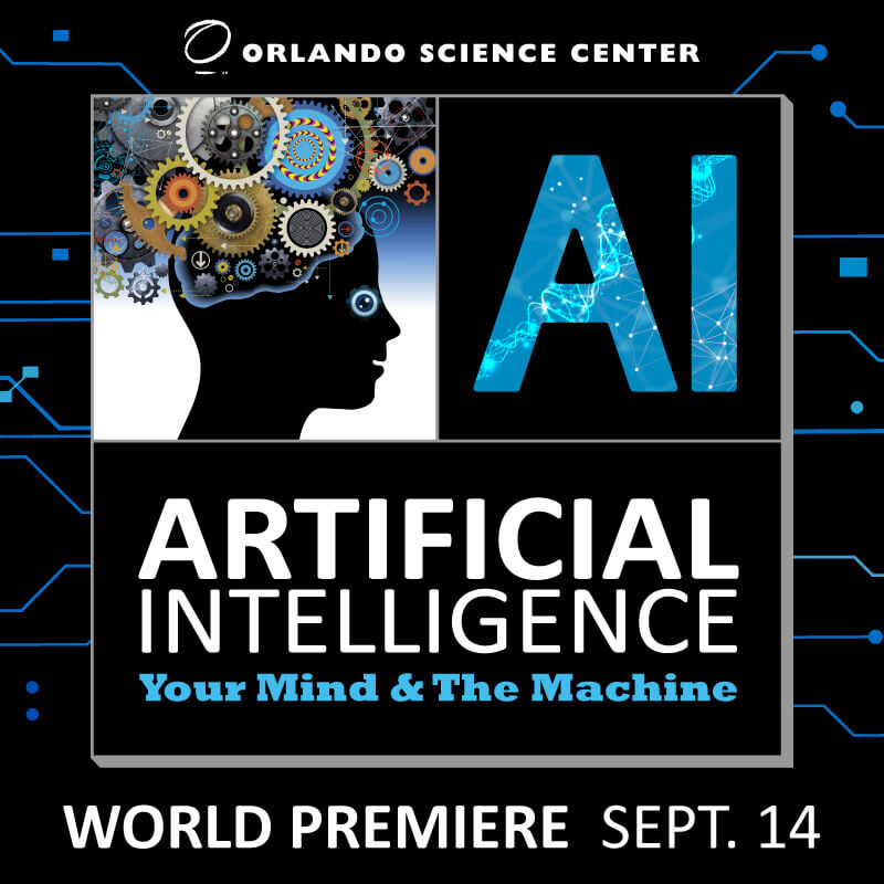 Artificial Intelligence: Your Mind & The Machine Logo