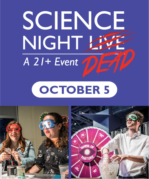 Science Night Dead Event on October 5