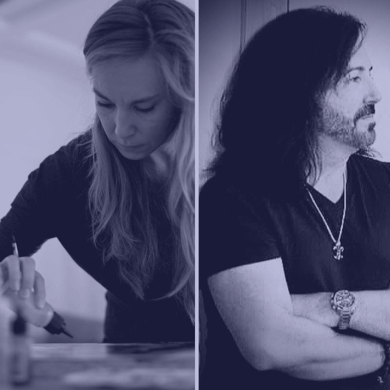 Christina Eve and Michael van Gelder