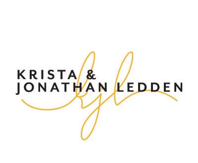 Krista & Jonathan Ledden Logo