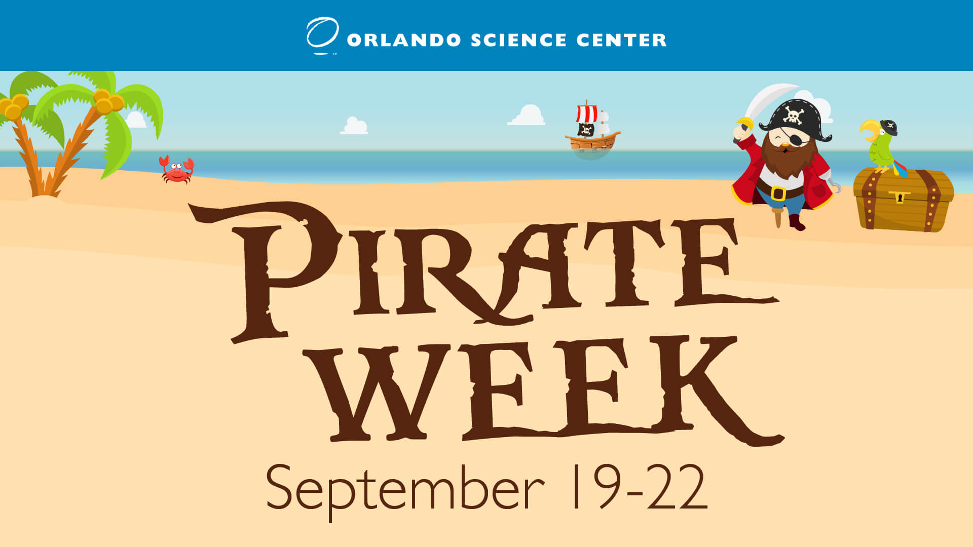 Pirate Week Flyer