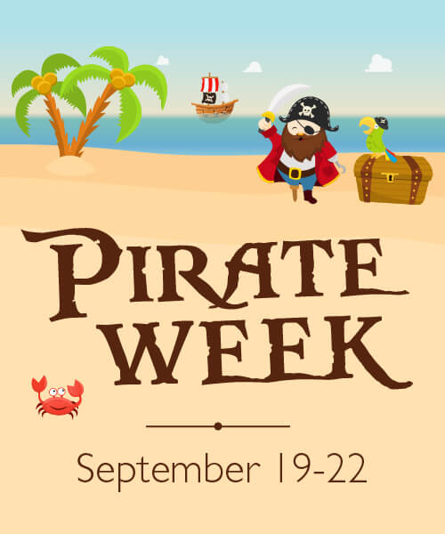 Pirate week flyer