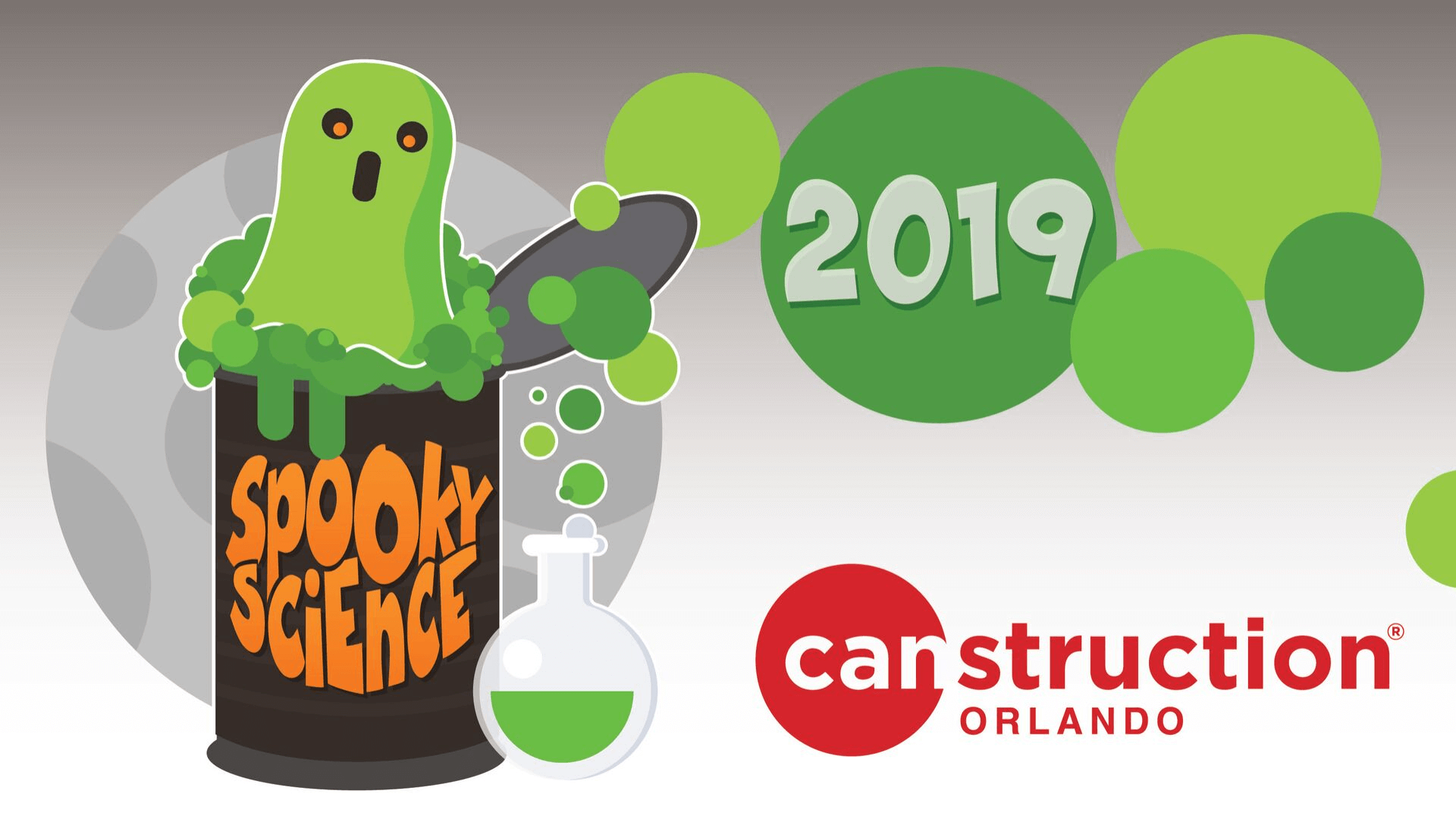 Canstruction Orlando 2019 graphic