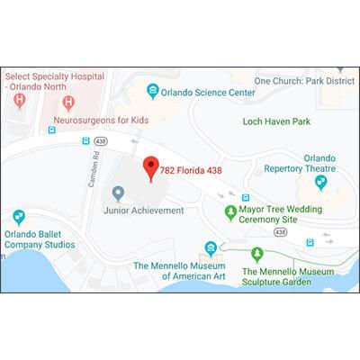 Google Maps image of OSC Parking Garage