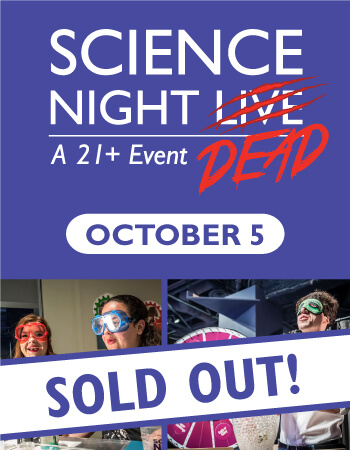Science Night Dead Sold Out Flyer