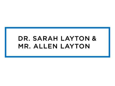 Dr. Sarah Layton and Mr. Allen Layton