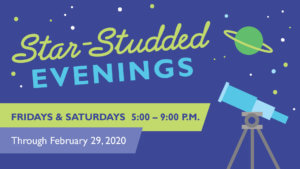 Star Studded Evenings Flyer