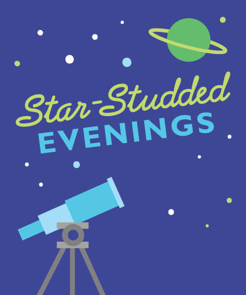 Star - Studded Evenings Flyer