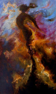 Transcending - painting by Lillian Verkins