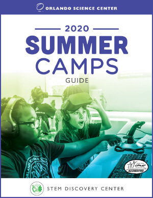 2020 Summer Camps Guide Cover Image