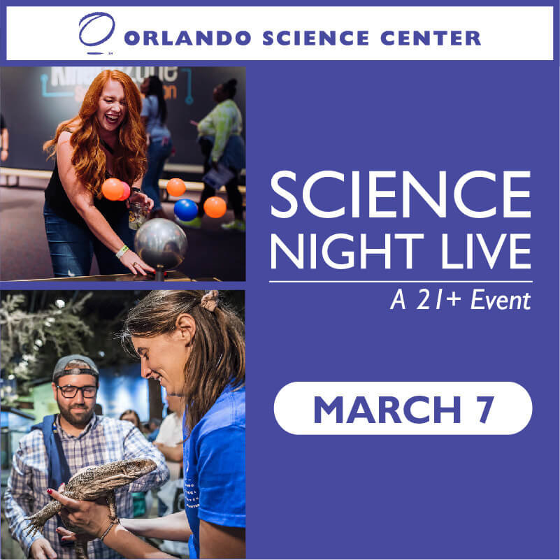 Science Night Live a 21+ event March 7 adults enjoying interactive exhibits