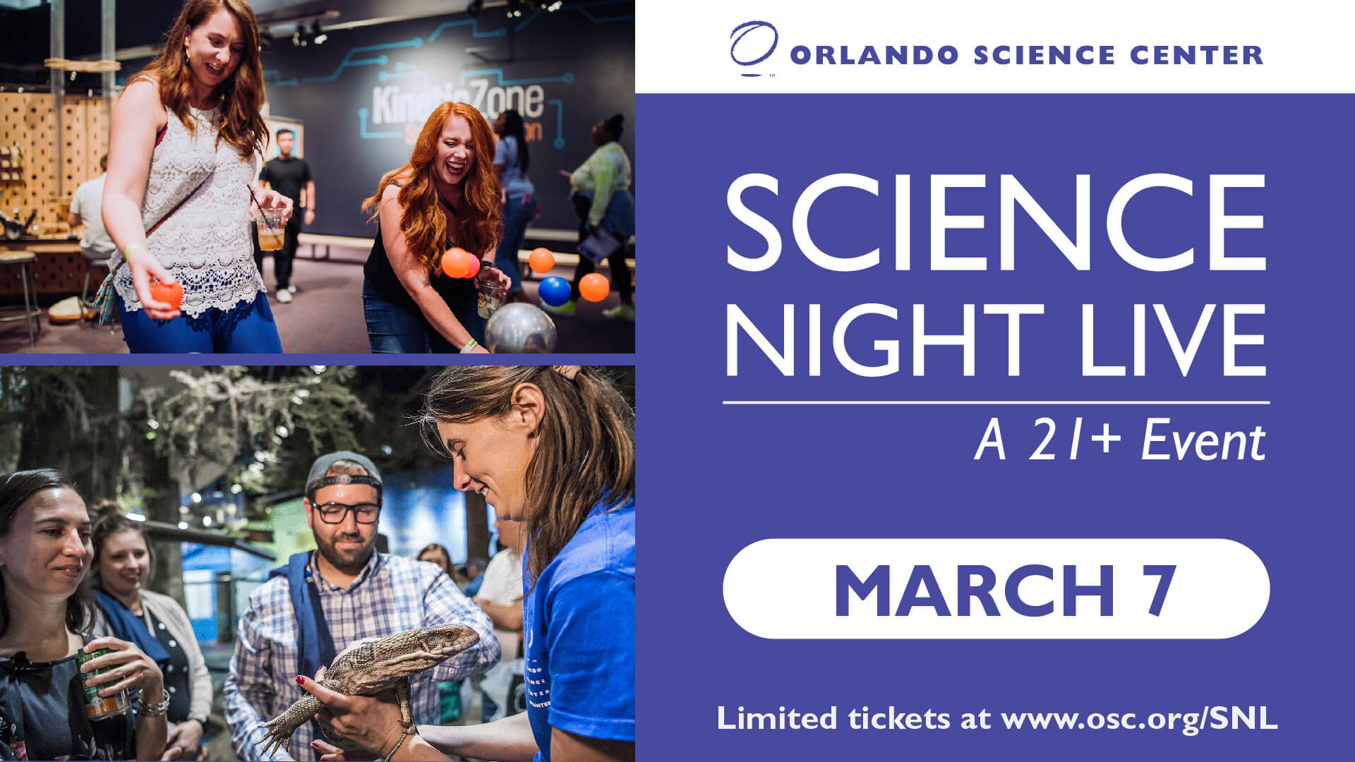 Science Night Live - March 7