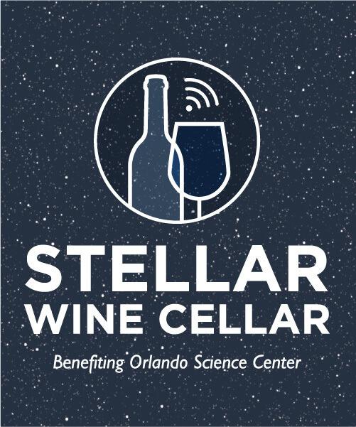 Stellar Wine Cellar, benefiting Orlando Science Center Logo