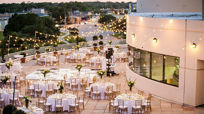 The Terrace Table Setting