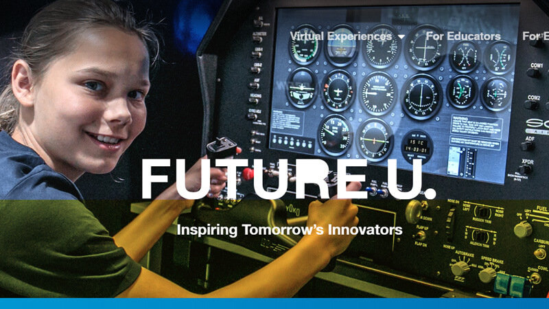 Image of Boeing Future U Website