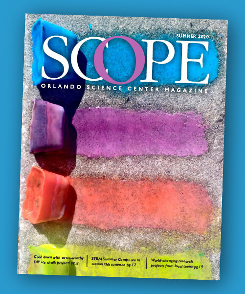 Cover of Summer 2020 Issue of SCOPE Magazine