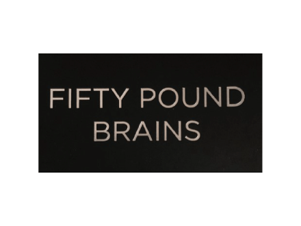 Fifty Pound Brains Logo