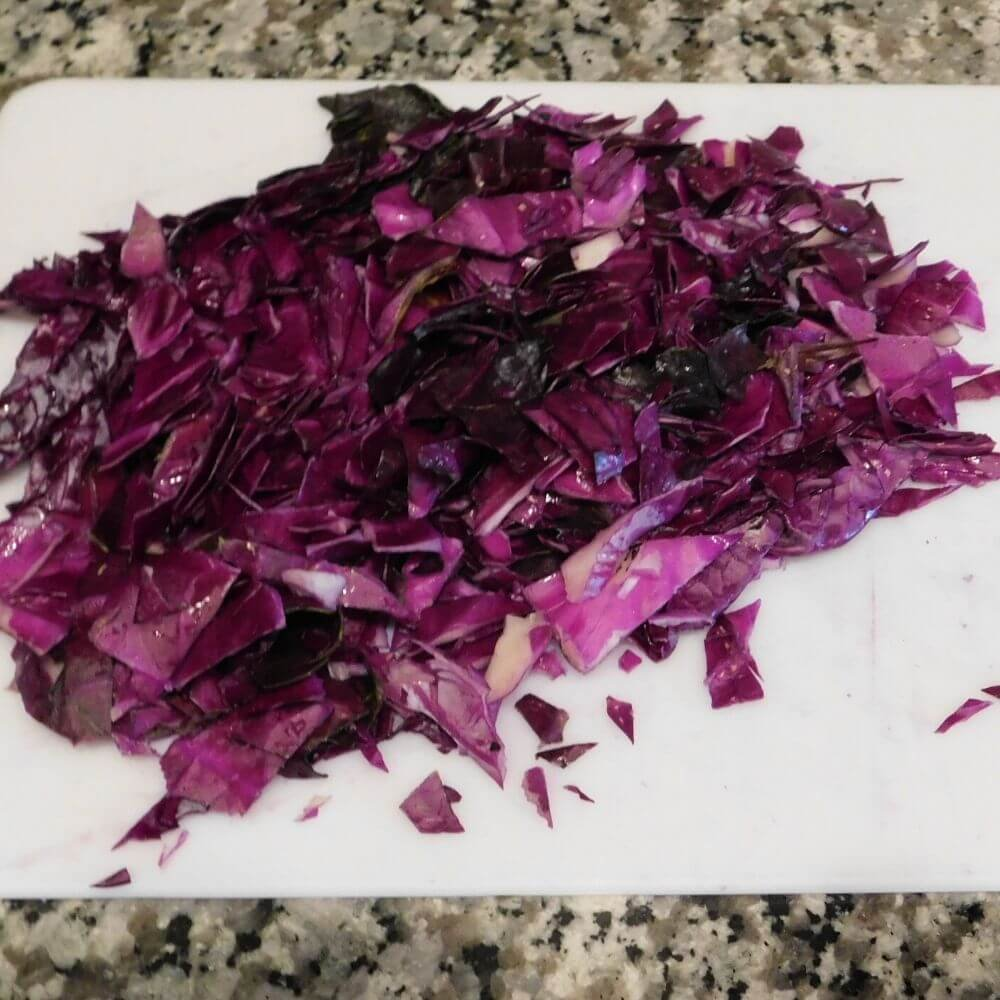 Red cabbage for DIY pH indicators