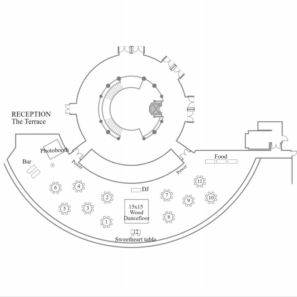 The Terrace floor plan