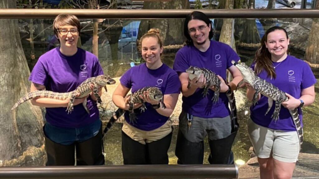 animal keepers at orlando science center raise zoo awareness