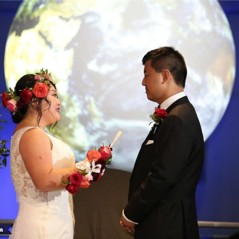 Best Wedding Portrait Backdrops in Orlando - Earth