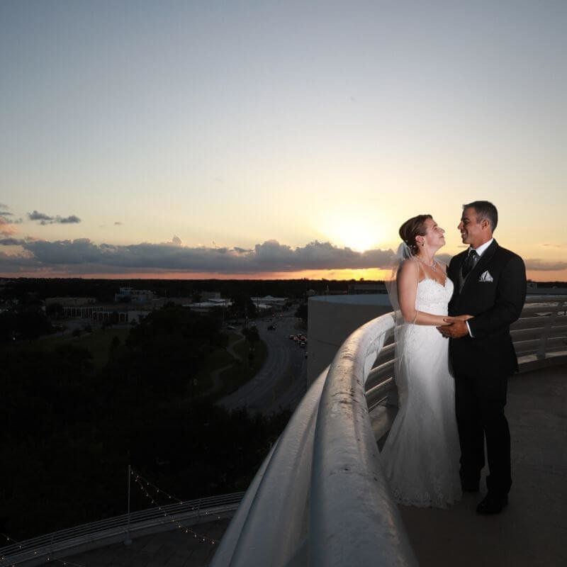 Best Wedding Portrait Backdrops in Orlando - observatory