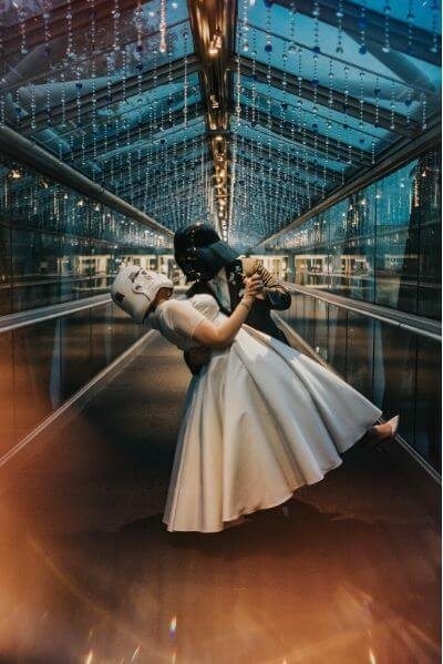 Best Wedding Portrait Backdrops in Orlando - sky bridge