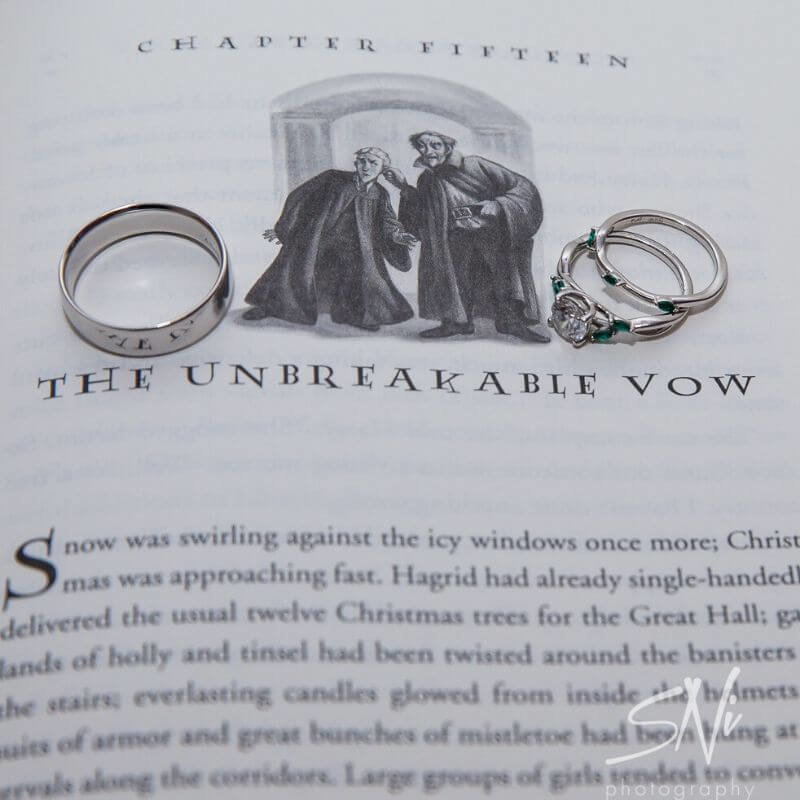 Harry Potter Wedding Details- unbreakable vow