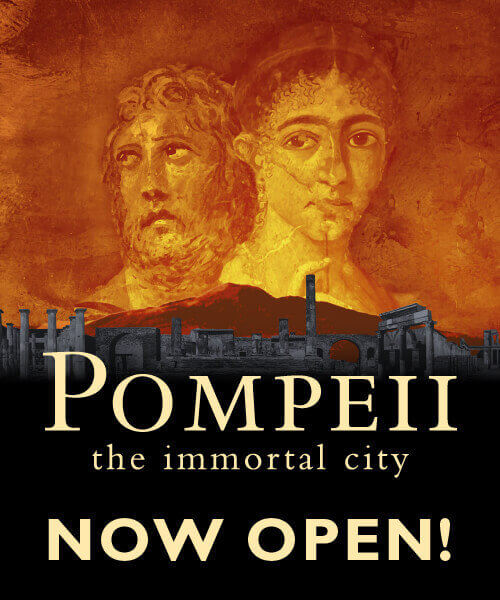 Pompeii: the Immortal City Exhibit - Now Open!